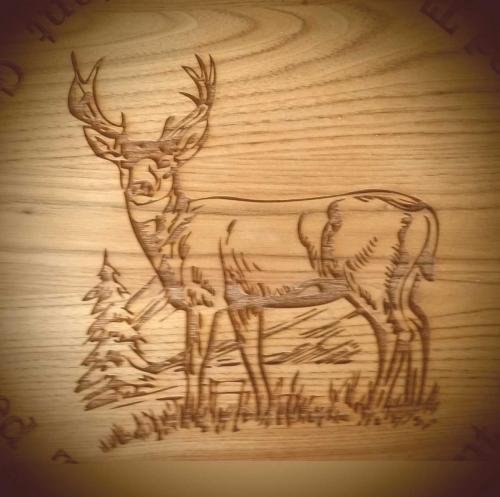 lazercut-example-deer-stag