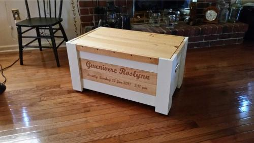Rough Cutters Handcrafted Personalized Chests are 100% Made in America